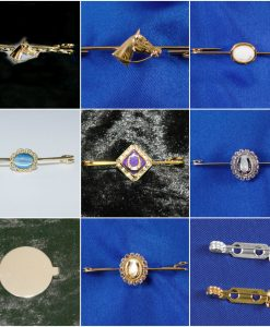 Stock Pins and Brooches